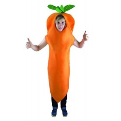 P 'tit clown – 15376 – Adult Carrot Costume – One Size