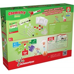 Science4you Chemistry Set 1000 Educational Science Toy STEM Toy