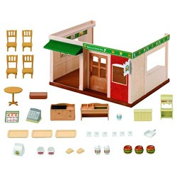 Sylvanian Families 5271 Hamburger Restaurant Set