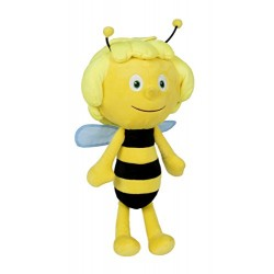 Simba 109341002 Maya the Bee Plush Figure, 30 cm, Yellow