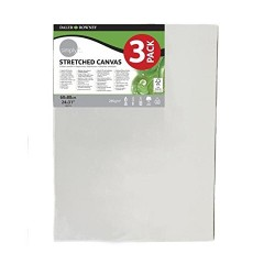 Daler Rowney 60x80cm Simply Canvas (Pack of 3)