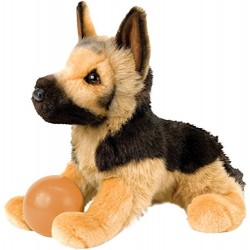 Cuddle Toys 2058 41 cm Long General German Shepherd Plush Toy