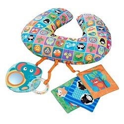 Chicco 7946000000 Boppy Tummy Time Pillow Activity Toy