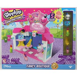 Shopkins 37364 Wave 2 Kinstructions Scene Fancy Boutique Building Set