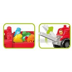 Mega Bloks 900 DXH38 Fire Truck Rescue Playset