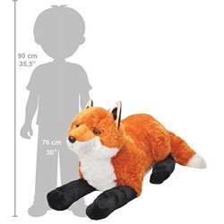 Wild Republic 19315 76 cm CK Jumbo Fox Plush Toy
