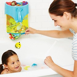 Skip Hop Scoop and Splash Bath Toy Organizer (Moby)