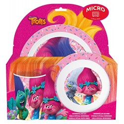 Joy Toy Trolls Dinnerware