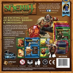 Arcane Wonders Sheriff of Nottingham Board Game