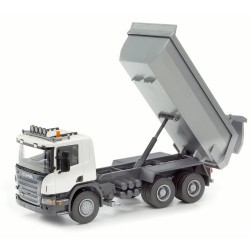 EMEK Scania P Dump Truck (White)