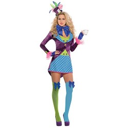 Amscan International Adults Mad Hatter Costume (UK 8