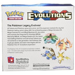 Pokemon XY12 Evolutions Booster Display