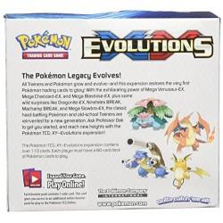 Pokemon XY12 Evolutions Booster Display