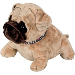 Spiegelburg Doorstop Pug Dog, 25 cm, Model# 10473