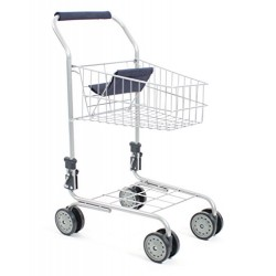 CHIC 2000 Bayer Childs Supermarket Trolly (Blue)
