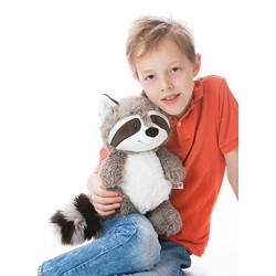 NICI 41141.0 Raccoon Rod Dangling Plush Toy, 35 cm