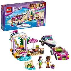 LEGO UK 41316 Andrea's Speedboat Transporter Construction Toy