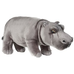 National Geographics HIPPO Stuffed Animals Plush Toy (Medium, Natural)