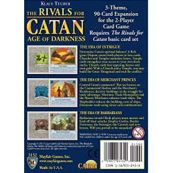 Rivals for Catan Expansion Age of Darkness ( 2011 Edition )