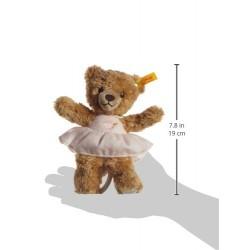 Steiff 20cm Sleep Well Bear Music Box (Pink)