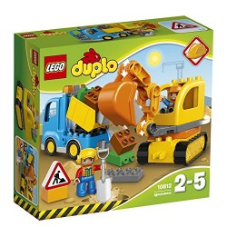 LEGO 10812 Duplo Truck & Tracked Excavator