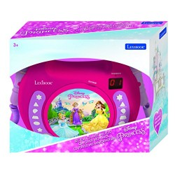 Lexibook RCDK100DP CD Player with 2 Mics Disney Princess