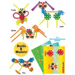 K'NEX Education Kid K'NEX Group Building Set fro Ages 3+ Preschool Educational Toy, 131 Pieces