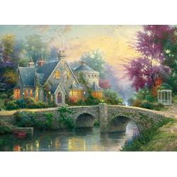 Schmidt Spiele 57463 Lamplight Manor Puzzle (3000
