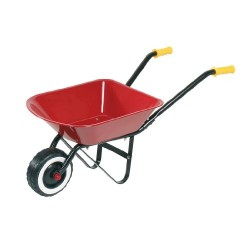 Children's Classic Metal Wheelbarrow