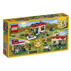 LEGO UK 31067 Modular Poolside Holiday Construction Toy