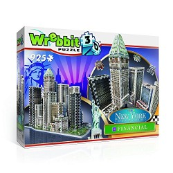 Wrebbit 3D New York Collection Financial District Puzzle