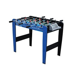 Mightymast Leisure Kids' Shooter Table Football, Blue, 3 Ft