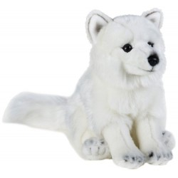 National Geographics ARCTIC FOX Stuffed Animals Plush Toy (Medium, Natural)