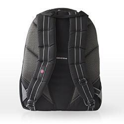 Wenger 600633 PILLAR 16 Laptop Backpack , Triple Protect compartment with case stabalising platform in Black / Grey {24 Litres}