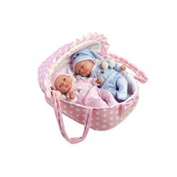 Arias 60136 Twins Sleeping Boy, Baby Girl