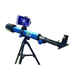 Discovery Channel TDK30 Discovery Galaxy Tracker Smart Telescope, 60 mm