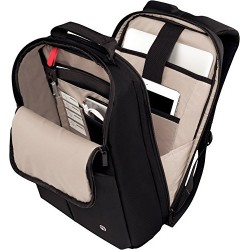 Wenger 601068 RELOAD 14 Laptop Backpack , Padded laptop compartment with iPad/Tablet / eReader Pocket in Black {11 Litres}