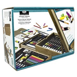 Royal & Langnickel All Media Easel Artist Set (104 Piece)