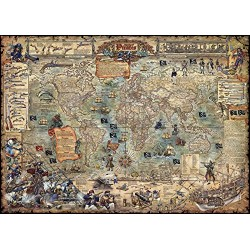 Heye Pirate World Puzzles (3000