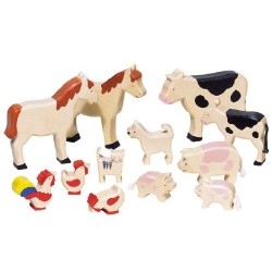 GoKi Wooden Farm Animals