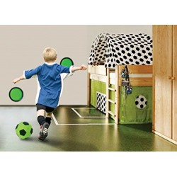 My Mini Golf Kids' Kick and Stick Indoor Football Target Game, Green, Small