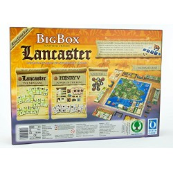 Queen Games 20092 Lancaster Big Box Multilingual Game