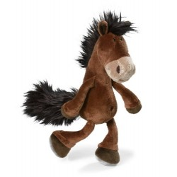 NICI Brown Dangling Horse 35 cm