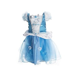 Cinderella Fancy Dress Disney Princess Babies Girls Infants Costume