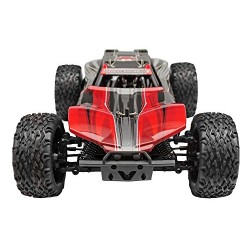 Redcat Racing Blackout XBE Electric Buggy with Waterproof Electronics Vehicle (1/10 Scale), Red