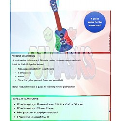 Lexibook K200PJM My First PJ Masks Guitar, 21