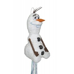 Disney Frozen Olaf Pinata, Shaped Pull String