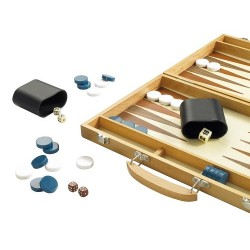 15 Wooden Backgammon Set