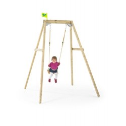 Wooden Swing Frame (Forest Single)