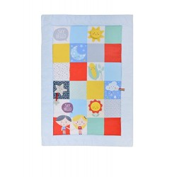 East Coast Nursery Say Hello Activity Mat, Patchwork